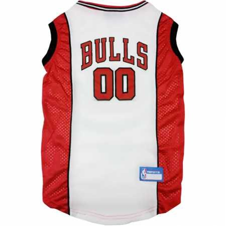 Chicago Bulls Dog Jersey Medium by DoggieNation