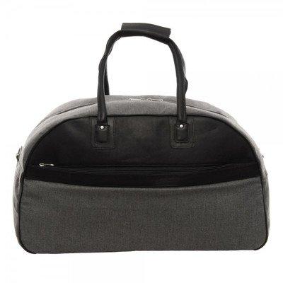 Piel Leather Satchel Travel Bag, Black, One Size