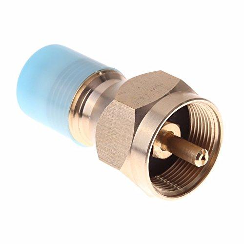 - Rainbow Store Propane Refill Adapter Lp Gas 1 Lb Cylinder Tank Coupler Heater Bottles Coleman