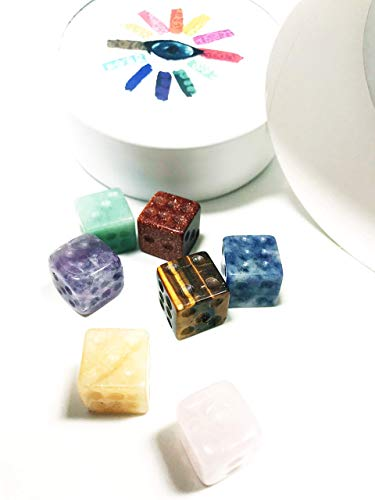 Clarity | Crystal Dice | Spiritual Practice | Decor, Game or Fun | Quantity of -