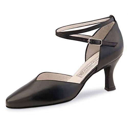 Werner Kern - Zapato de baile para mujer (tacón de 6,5 cm) negro - negro