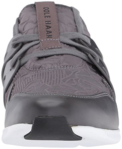 Cole Haan Damen Sneaker Pavement Embossed Floral Neoprene/Leather/Optic White
