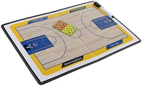 F Fityle Carpeta Magnética Entrenador de Baloncesto Plegable, con ...