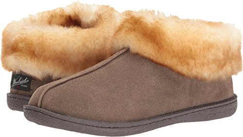 Walnut Autumn (Woolrich Women's Autumn Ridge Ii Slipper, Walnut Suede, 6 M US)