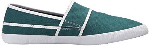 Lacoste Mens Marice 317 1 Sneaker Verde Scuro / Bianco