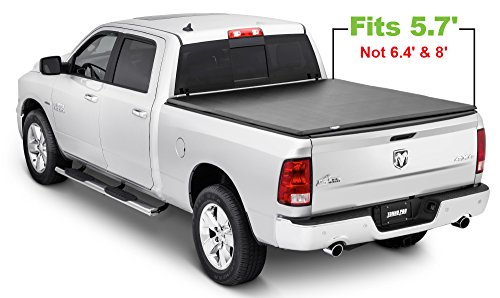 Tonno Pro Tonno Fold 42-201 TRI-FOLD Truck Bed Tonneau Cover 2009-2018 Dodge Ram 1500, 2011-2018 Ram 2500, 3500 | Fits 5.7' Bed (Excludes Beds with ()