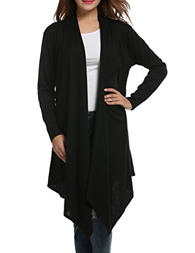 Sherosa Women Solid Essential Long Casca - Cotton Long Cardigan Shopping Results