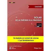 Scilab : De la théorie à la pratique - Calculer: MODULE EXTRAIT DU LIVRE Scilab : De la théorie à la pratique - I. Les fondamentaux (French Edition)