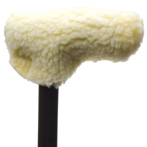 Fleece T-Handle Cane Grip Cover
