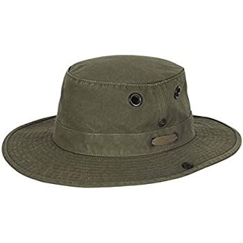 c966ee1ea695c Amazon.com  Tilley Endurables T3 Wanderer Cotton Duck Medium Brim ...