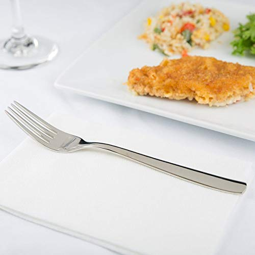 Arcoroc T1801 Vesca Stainless Steel Dinner Fork by Arc Cardinal - 12/Case