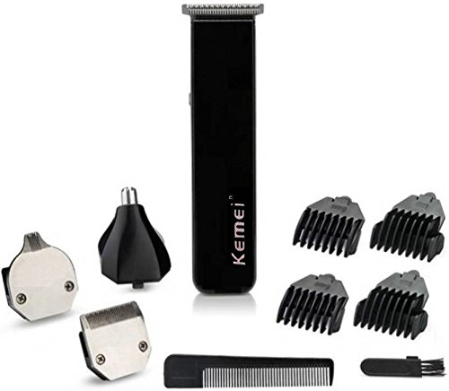 Kemei KM-3580 Trimmers Black And Blue