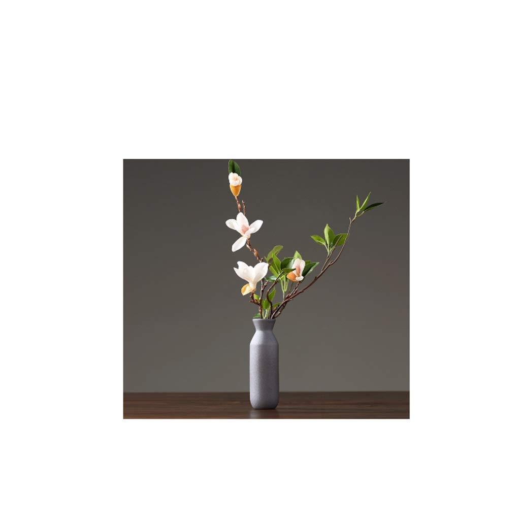 HBJP 中国の禅セラミック花瓶、リビングルームの装飾 花瓶 B07RV7Z32V
