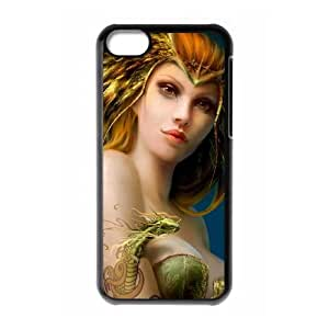 fantasy girl art iPhone 5c Cell Phone Case Black xlb2-293251