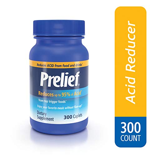 Prelief Acid Reducer Dietary Supplement Caplets, 300 Count