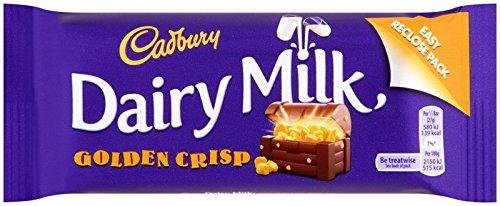 Cadbury Dairy Milk Golden Crisp 54g ()