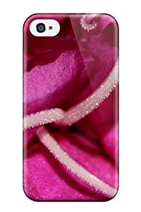 Fashionable Style Case Cover Skin For Iphone 4/4s- Pink Flower Macro