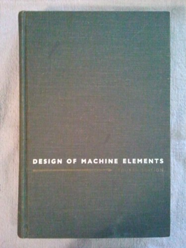 Design of Machine Elements by Virgil Moring Faires (1965-06-03)