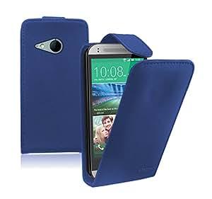 Membrane - Azul Funda Carcasa para HTC One 2 Mini - Flip Case Cover