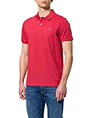 GANT Mens Gant Mens Short-sleeved Pique Polo Polo Shirt