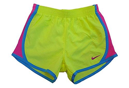 Nike 3,5 Jenter Tempo Kjører Shorts Volt / Klart Vann