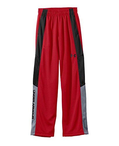 Under Armour Big Boys' UA Hero Warm-Up Pants YXL Red