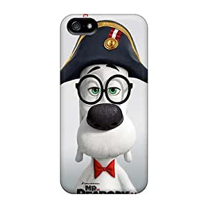 Anti-Scratch Hard Phone Case For Iphone 5/5s With Support Your Personal Customized Trendy Mr Peabody Sherman Series KaraPerron