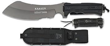 K25 K25-32176 - Cuchillo SFL. Titanium. Hoja 20 cm ...