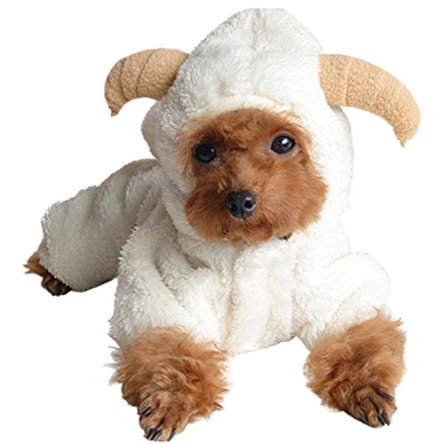 Alfie Pet - Everly Sheep Costume - Size: Medium -