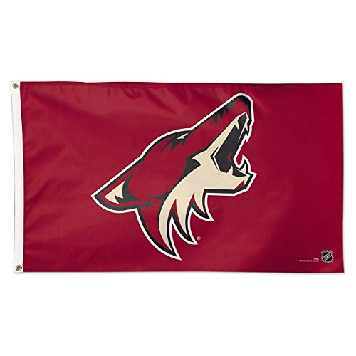 (Wincraft NHL Arizona Coyotes Deluxe Flag, 3' x)