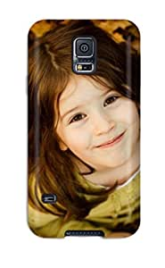 Brand New S5 Defender Case For Galaxy (cute Girl On Leaves)