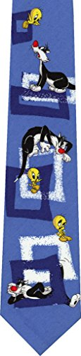 - Sylvester Tweety Looney Tunes Novelty Necktie