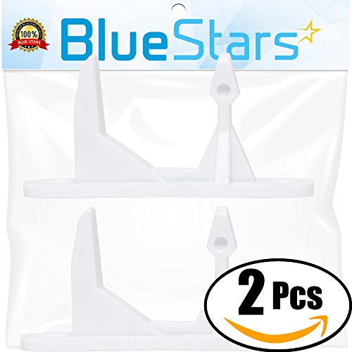 Ultra Durable 131763310 Washer Door Striker Replacement Part by Blue Stars - Exact Fit for Frigidaire & Kenmore Washer - Replaces 131763300 131763310 AP3580441 - PACK OF 2 (Replacement Washer)