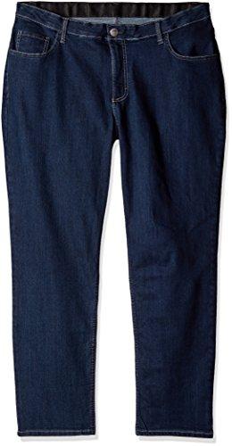 Jeans Comfort Lee Waist (Riders by Lee Indigo Women's Petite-Plus-Size Slender Stretch Skinny Jean, Nile, 18W Petite)