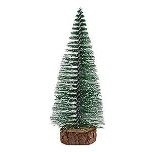 Mini Christmas Tree Stick White Cedar Desktop Small Christmas Tree 20cm