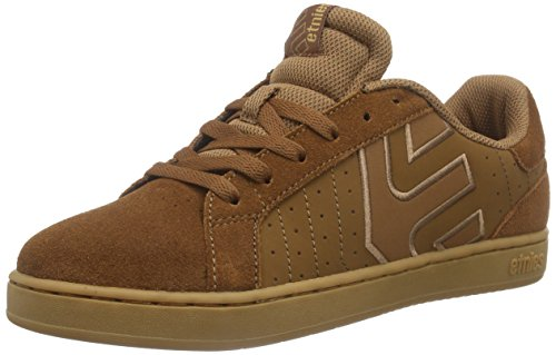 Etnies Fader LS Skate Shoe Brown/Brown/Gum aKZ4T