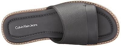 CK Jeans Men's Nezarr Smooth Sandal