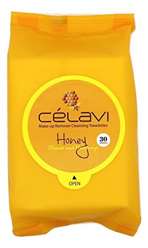 Amazon.com: Celavi Makeup Remover Cleansing Wipes Removing Towelettes 2 Packs - 60 Sheets (Honey) by Celavi Cosmetics: Beauty