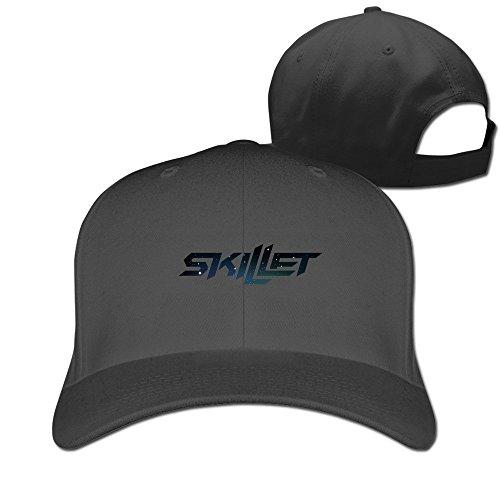 Unisex Skillet Logo Adjustable Snapback Baseball Cap 100%cotton Black One - Syracuse Destiny