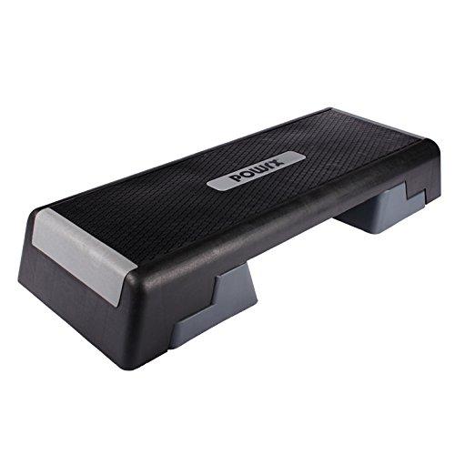 Profi Aerobic Fitness Step Steppbrett Stepper L:101 x B:36 Höhe bis max. 25 cm verstellbar