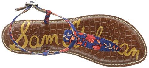 Sandals floreale Multi stampa Blue Edelman Festival Sam Woman A4940sf939 tIxqZwB6