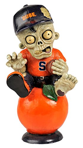 Forever Collectibles Syracuse Orange Zombie Figurine - Thematic w/Football by Forever Collectibles