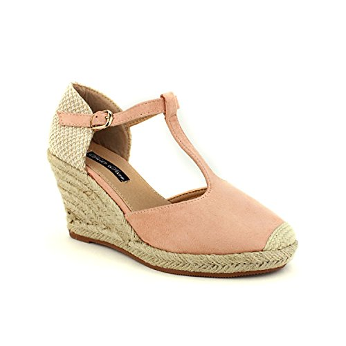Star Femme Bello Pink Espadrille Color Chaussures Cendriyon an4qvIAwwx