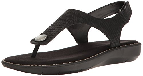 Snake Black Be Women Flat Sandal Cool Aerosoles wYZqX5
