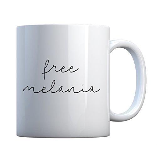 Mug Free Melania Now Large Pearl White Gift Mug