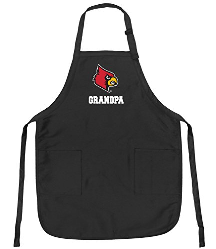 (University of Louisville Grandpa Aprons Louisville Cardinals Grandpa w/Pockets Grilling Gift Him Men)