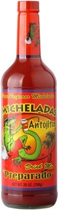 Michelada Antojitos Preparado Mix 25oz for Beer, Bloody Mary and Cocktails - Ready To Use