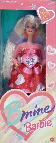 Nrfb Mint Box (BARBIE BMINE VALENTINE DOLL, SPECIAL EDITION, 1993 EDITION, #11182, NRFB)