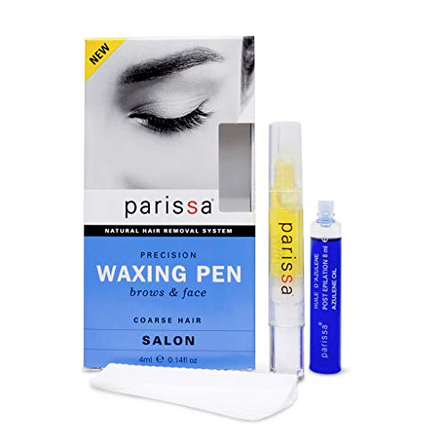 Parissa Precision Eyebrow Waxing Pen, Salon-Style Wax at home, 0.14 fl. oz. ()