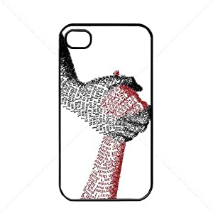 iphone covers Valentine's Day Gift Sweet Heart Love Apple Iphone 5c TPU Soft Black or White case (Black)